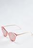 Pink Lucite Sunglasses alternate view