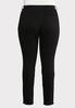 Plus Size Washed Black Jeggings alternate view