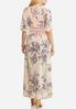 Plus Size Lace Trim Duster Kimono alternate view
