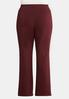 Plus Size Bengaline Bootcut Pants alternate view