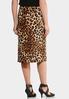 Leopard Hardware Pencil Skirt alternate view