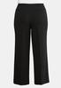 Plus Size Pull- On Trouser Pants alternate view