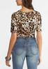 Plus Size Leopard Print Bodysuit alternate view