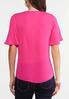 Pink Hanky Hem Top alternate view