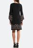 Plus Size Floral Puff Swing Dress alternate view