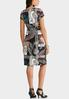 Plus Size Paisley Midi Dress alternate view