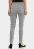 Houndstooth Skinny Jeans alternate view
