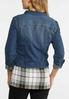 Plus Size Essential Denim Jacket alternate view
