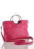 Ring Handle Seamed Handbag alternate view