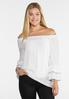 Plus Size Piped Tier Poet Top alternate view