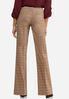 Petite Plaid Trouser Pants alternate view