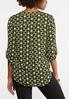 Plus Size Geo Tunic Top alternate view