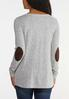 Elbow Patch Button Top alternate view