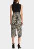 Plus Size Leopard Print Jumpsuit alternate view