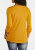 Square Neck Knit Top alternate view
