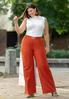 Plus Size Double Ring Belt Pants alternate view