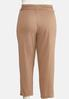 Plus Size Cropped Paperbag Pants alternate view