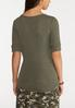 Olive Henley Top alternate view