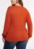 Plus Size Tie Front Cardigan alternate view