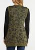 Plus Size Camo Knit Vest alternate view