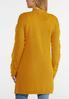 Plus Size Gold Fringe Sleeve Cardigan alternate view
