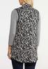 Plus Size Knit Leopard Vest alternate view
