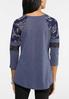 Plus Size Sass Sleeve Thermal Top alternate view
