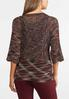 Plus Size Square Neck Pullover Sweater alternate view