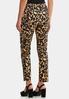 Leopard Slim Leg Pants alternate view
