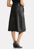 Faux Leather Midi Skirt alternate view