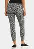 Cropped Leopard Active Leggings alternate view