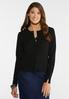 Plus Size Button Front Cardigan Sweater alternate view