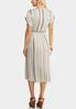 Plus Size Mitered Midi Dress alternate view