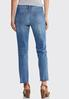 Buttonfly Raw Hem Jeans alternate view