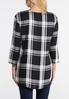 Black And White Plaid Shirt alternate view