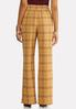 Menswear Plaid Wide Leg Pants alternate view