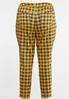Plus Size Curvy Honey Plaid Pants alternate view