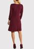 Ruched Sleeve Swing Dress alternate view
