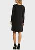 Plus Size Comfy Solid Swing Dress alternate view