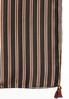 Silky Stripe Tasseled Oblong Scarf alternate view