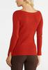 Plus Size Ribbed Pullover Top alternate view