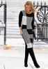 Black And White Sweater Dress alternate view