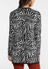 Zebra Tunic Sweater alternate view