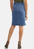 Paperbag Denim Skirt alternate view