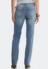 Medium Wash Straight Leg Jeans alternate view