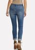 Camo Patch Skinny Jeans alternate view