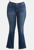 Plus Size Bling Cross Pocket Jeans alternate view