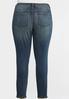 Plus Size Slimming Skinny Jeans alternate view