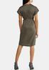 Plus Size Tie Waist Utility Dress alternate view