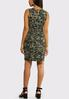 Camo Print Dress alternate view